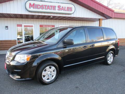 2012 Dodge Grand Caravan for sale at Midstate Sales in Foley MN