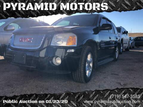 2006 GMC Envoy for sale at PYRAMID MOTORS - Pueblo Lot in Pueblo CO