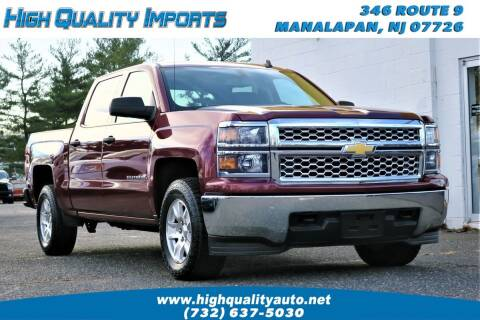 2014 Chevrolet Silverado 1500 for sale at High Quality Imports in Manalapan NJ
