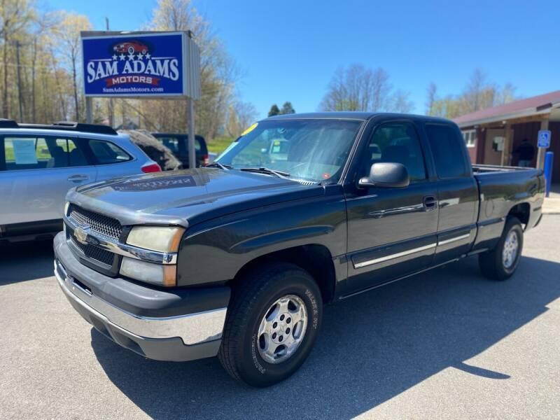 2003 Chevrolet Silverado 1500 for sale at Sam Adams Motors in Cedar Springs MI