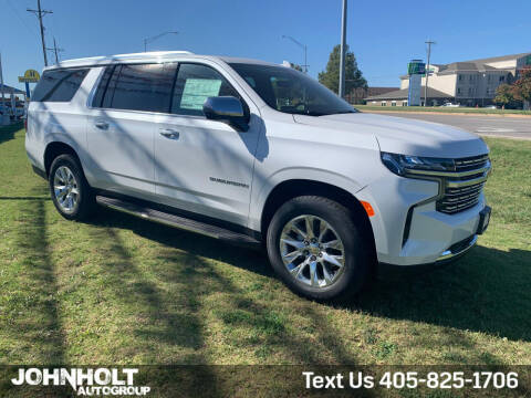 2021 Chevrolet Suburban for sale at JOHN HOLT AUTO GROUP, INC. in Chickasha OK
