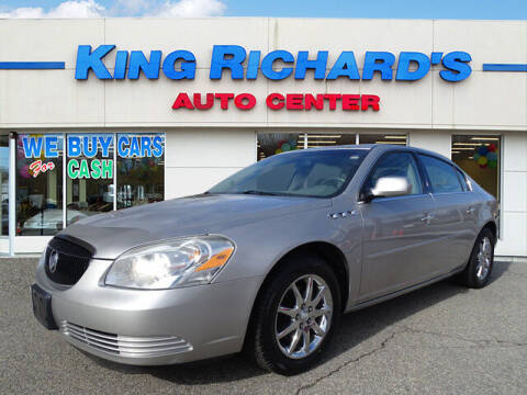 2006 Buick Lucerne for sale at KING RICHARDS AUTO CENTER in East Providence RI
