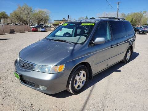 2001 Honda Odyssey for sale at Canyon View Auto Sales in Cedar City UT
