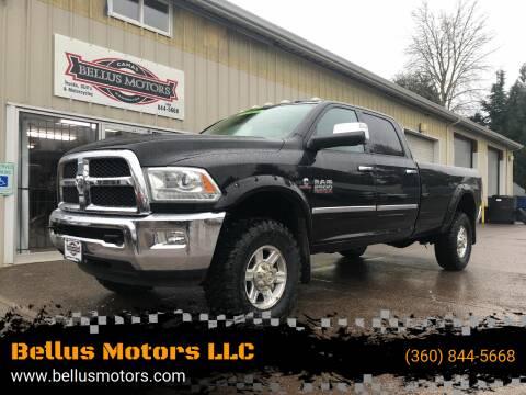 2013 RAM Ram Pickup 2500 for sale at Bellus Motors LLC in Camas WA
