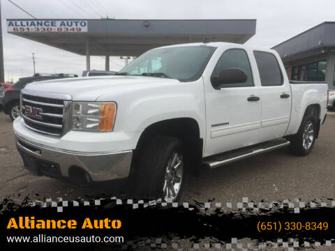 2012 GMC Sierra 1500 for sale at Alliance Auto in Newport MN