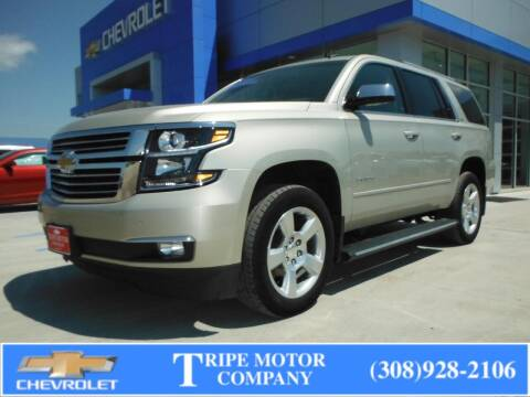 2015 Chevrolet Tahoe for sale at Tripe Motor Company in Alma NE