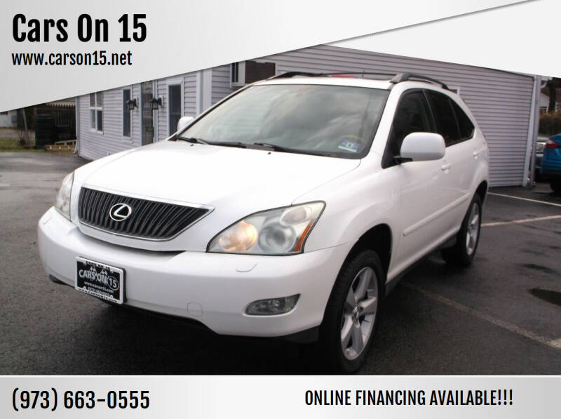 2007 Lexus RX 350 for sale at Cars On 15 in Lake Hopatcong NJ