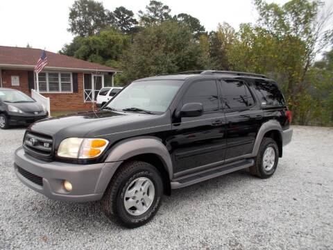 2002 Toyota Sequoia for sale at Carolina Auto Connection & Motorsports in Spartanburg SC