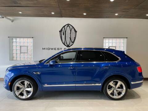 2017 Bentley Bentayga for sale at Midwest Car Connect in Villa Park IL