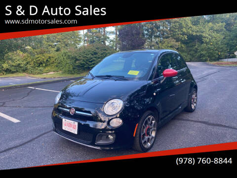 2014 FIAT 500 for sale at S & D Auto Sales in Maynard MA