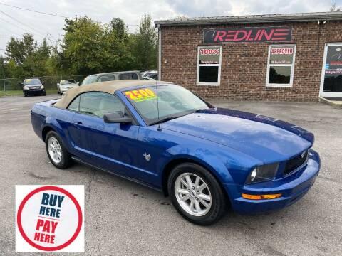 2009 Ford Mustang for sale at Redline Motorplex,LLC in Gallatin TN