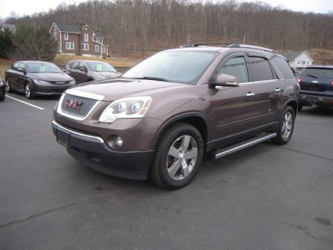 2011 GMC Acadia for sale at 1-2-3 AUTO SALES, LLC in Branchville NJ