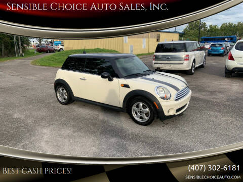 2008 MINI Cooper for sale at Sensible Choice Auto Sales, Inc. in Longwood FL