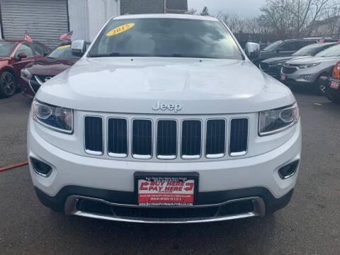 2015 Jeep Grand Cherokee for sale at Buy Here Pay Here Auto Sales in Newark NJ