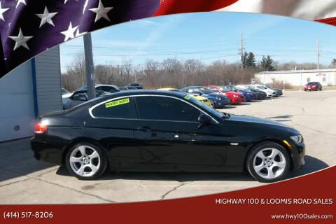 2007 BMW 3 Series for sale at Highway 100 & Loomis Road Sales in Franklin WI