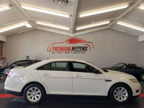 2011 Ford Taurus for sale at Premium Motors in Villa Park IL