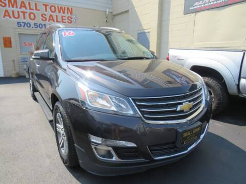 2016 Chevrolet Traverse for sale at Small Town Auto Sales in Hazleton PA