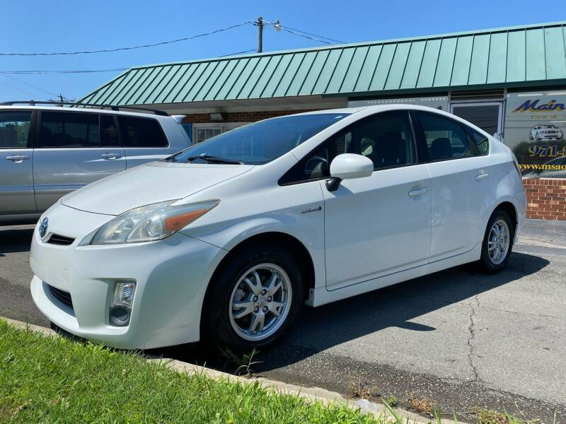2010 Toyota Prius for sale at Main Street Auto LLC in King NC