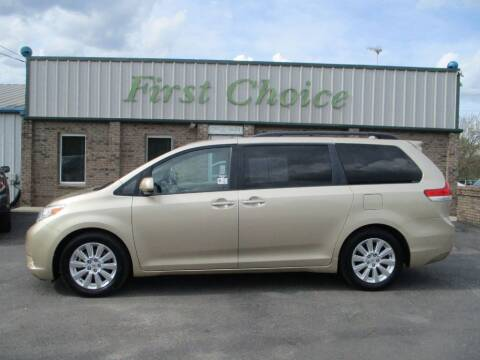 2011 Toyota Sienna for sale at First Choice Auto in Greenville SC