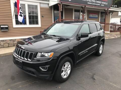 2014 Jeep Grand Cherokee for sale at Lux Car Sales in South Easton MA