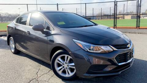 2017 Chevrolet Cruze for sale at Maxima Auto Sales in Malden MA