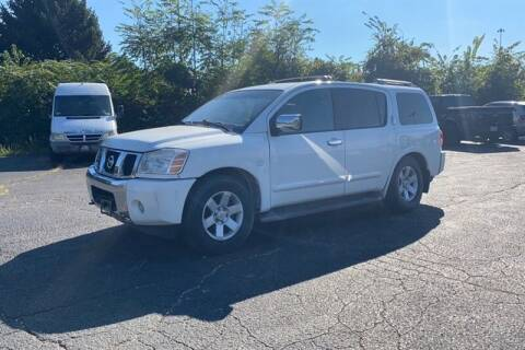 2004 Nissan Armada for sale at MICHAEL J'S AUTO SALES in Cleves OH