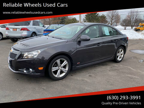 2014 Chevrolet Cruze for sale at Reliable Wheels Used Cars in West Chicago IL