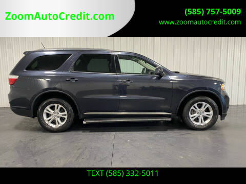 2013 Dodge Durango for sale at ZoomAutoCredit.com in Elba NY