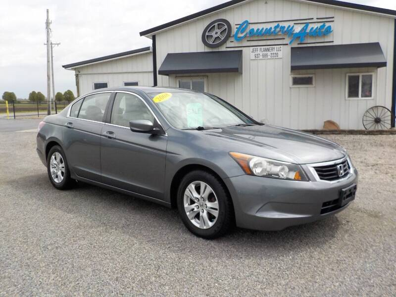 2008 Honda Accord for sale at Country Auto in Huntsville OH