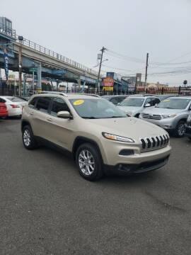 2015 Jeep Cherokee for sale at Key & V Auto Sales in Philadelphia PA