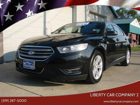 2015 Ford Taurus for sale at Liberty Car Company - II in Waterloo IA