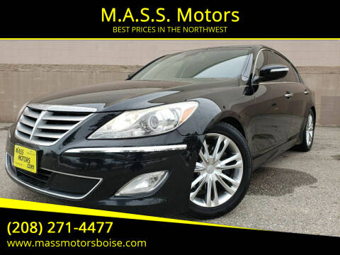 2012 Hyundai Genesis for sale at M.A.S.S. Motors in Boise ID