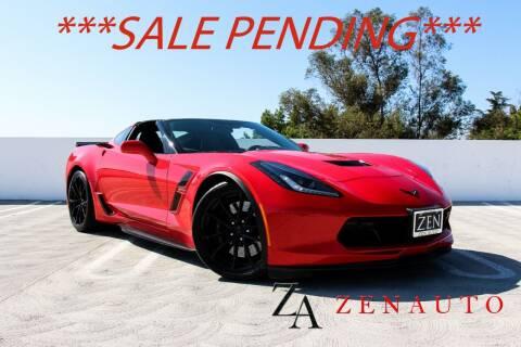 2017 Chevrolet Corvette for sale at Zen Auto Sales in Sacramento CA
