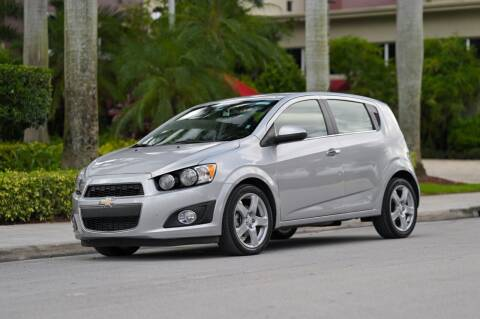 2016 Chevrolet Sonic for sale at EURO STABLE in Miami FL