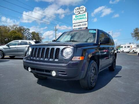 2015 Jeep Patriot for sale at BAYSIDE AUTOMALL in Lakeland FL