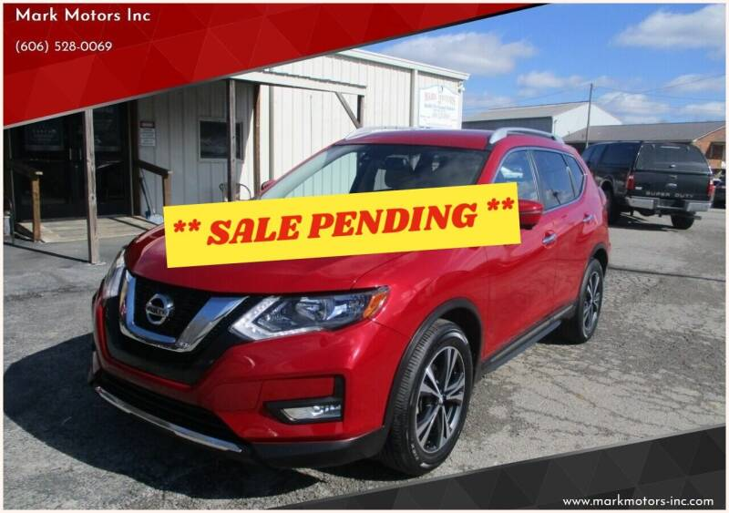 2017 Nissan Rogue for sale at Mark Motors Inc in Gray KY