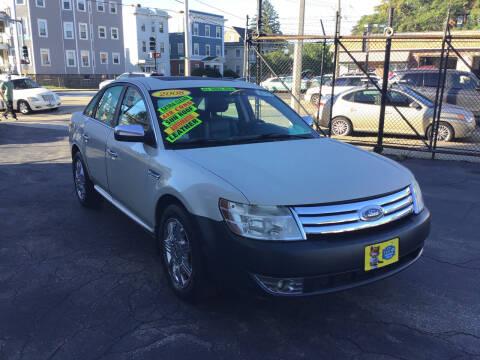 2008 Ford Taurus for sale at Adams Street Motor Company LLC in Boston MA