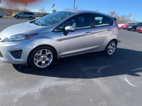 2012 Ford Fiesta for sale at Doug White's Auto Wholesale Mart in Newton NC