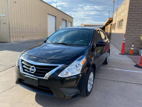 2016 Nissan Versa for sale at CONTRACT AUTOMOTIVE in Las Vegas NV