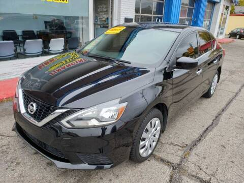 2017 Nissan Sentra for sale at AutoMotion Sales in Franklin OH