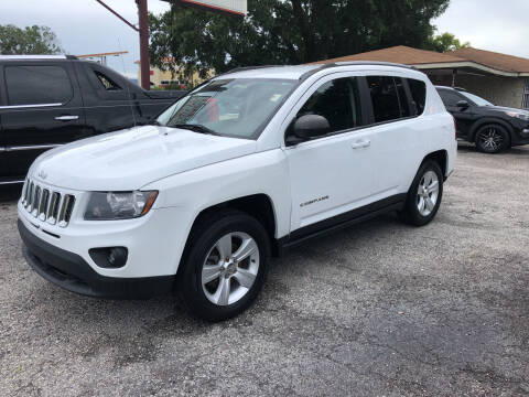 2016 Jeep Compass for sale at Reliable Motor Broker INC in Tampa FL