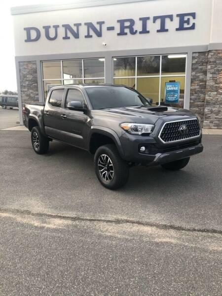 2019 Toyota Tacoma for sale at Dunn-Rite Auto Group in Kilmarnock VA