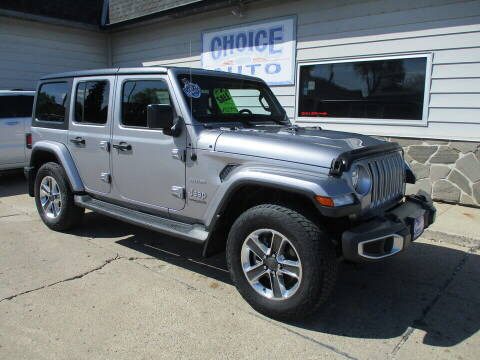 2018 Jeep Wrangler Unlimited for sale at Choice Auto in Carroll IA