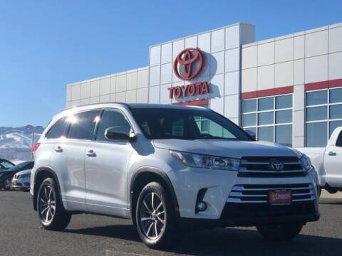 2018 Toyota Highlander for sale at Rocky Mountain Commercial Trucks in Casper WY