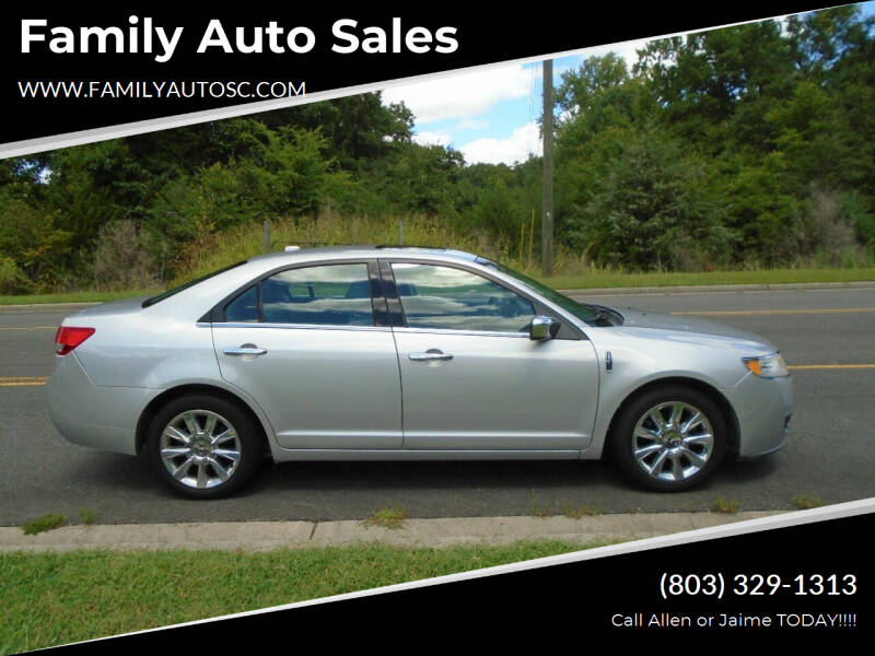 2010 Lincoln MKZ for sale at Family Auto Sales in Rock Hill SC