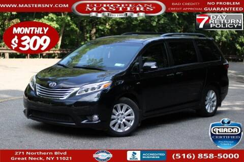 2017 Toyota Sienna for sale at European Masters in Great Neck NY