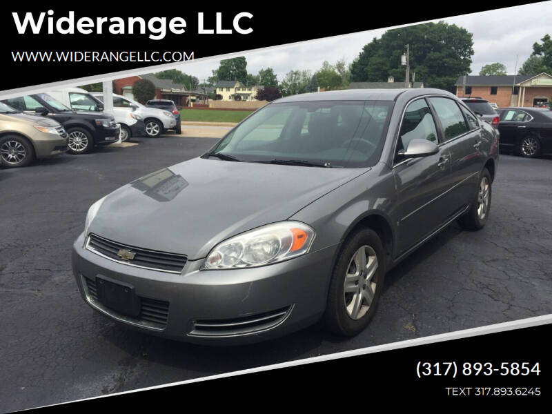 2007 Chevrolet Impala for sale at Widerange LLC in Greenwood IN