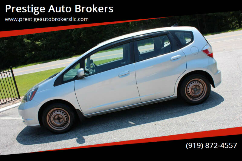 2012 Honda Fit for sale at Prestige Auto Brokers in Raleigh NC