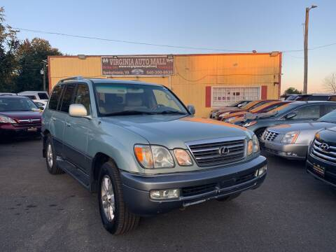2004 Lexus LX 470 for sale at Virginia Auto Mall in Woodford VA
