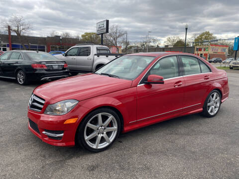 2014 Mercedes-Benz C-Class for sale at BWK of Columbia in Columbia SC